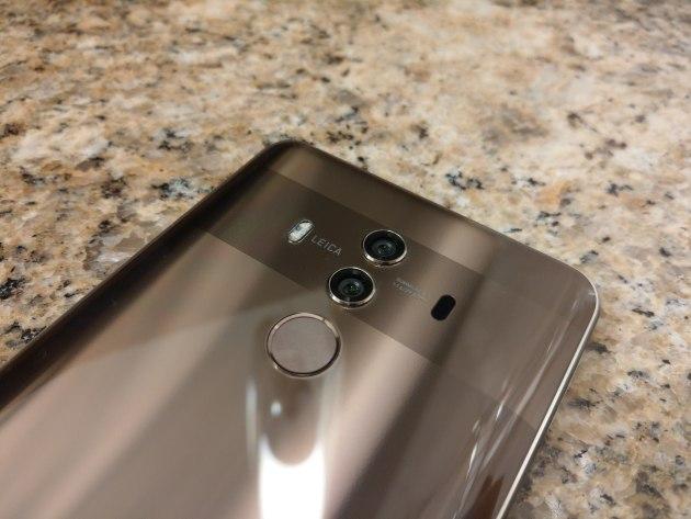 Huawei Mate 10 Pro aparaty