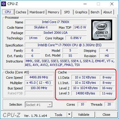 Intel Core i7-7900X
