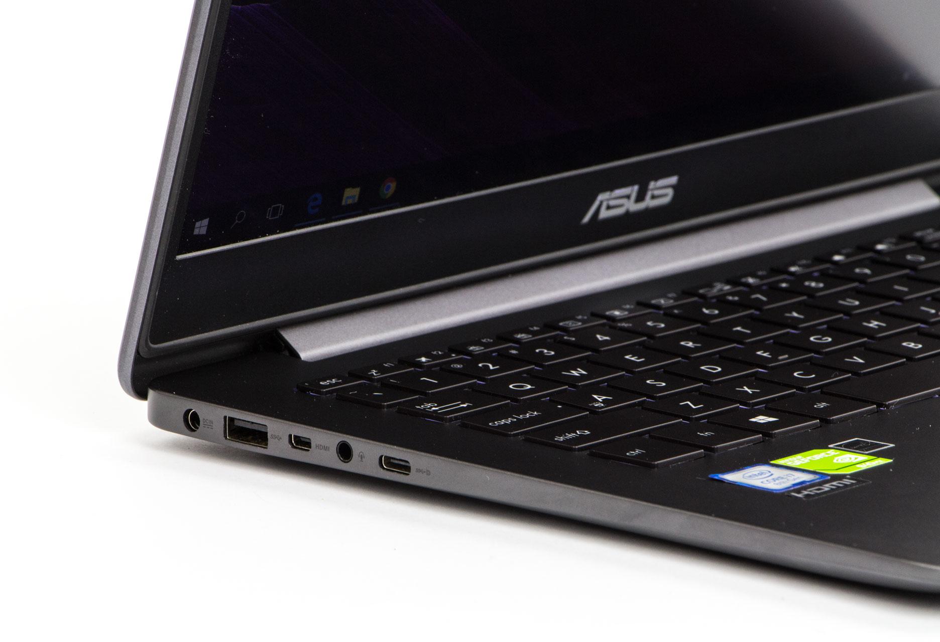 Asus Zenbook UX430U lewa strona