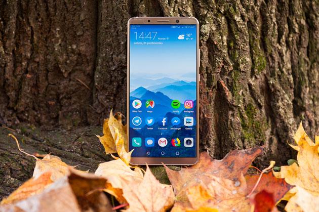 Huawei Mate 10 Pro - wyświetlacz AMOLED 18:9