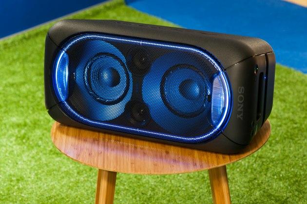 Sony GTK-XB60 położenie horyzontalne