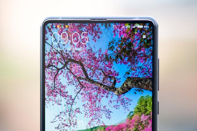 Xiaomi Mi Mix 2 - duży, jasny wyświetlacz