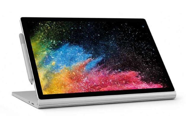 Microsoft Surface Book 2 tryb wyświetlania