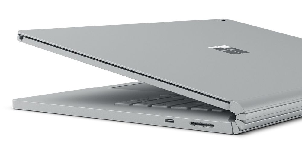 Microsoft Surface Book 2 złącza