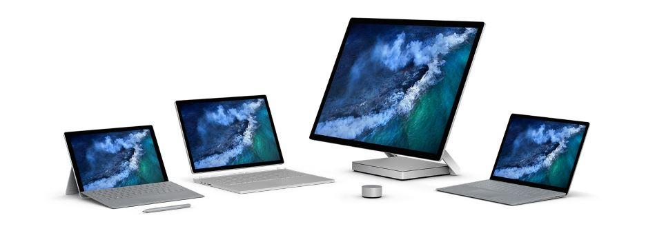 seria urządzeń Microsoft Surface