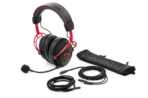 HyperX Cloud Alpha - słuchawki dla graczy z mikrofonem