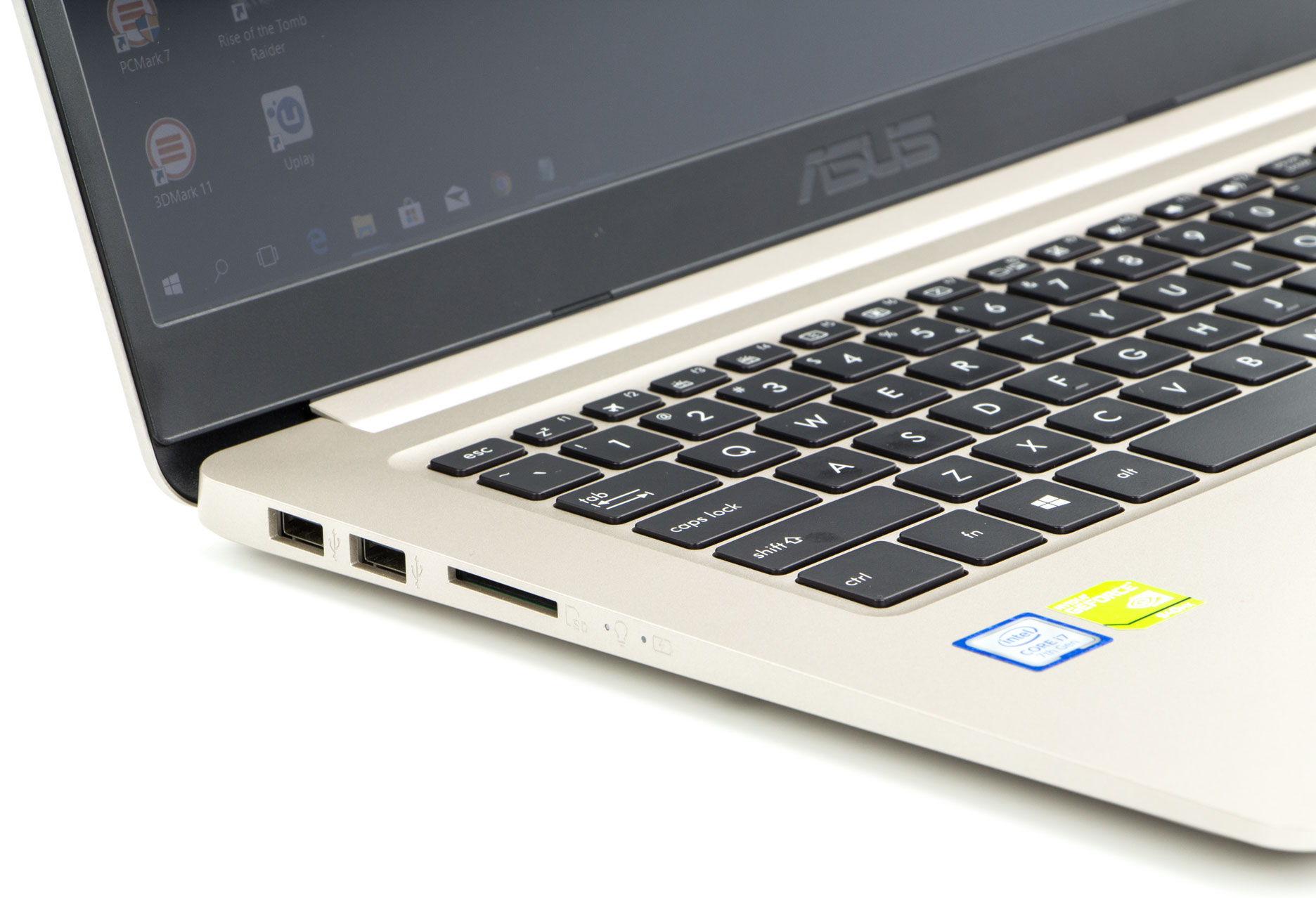 Asus VivoBook S15 lewy bok