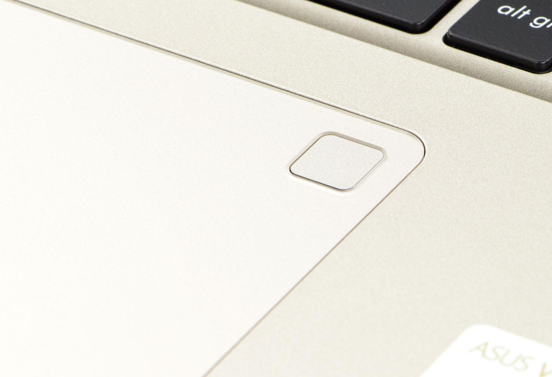 Asus VivoBook S15 czytnik linii papilarnych