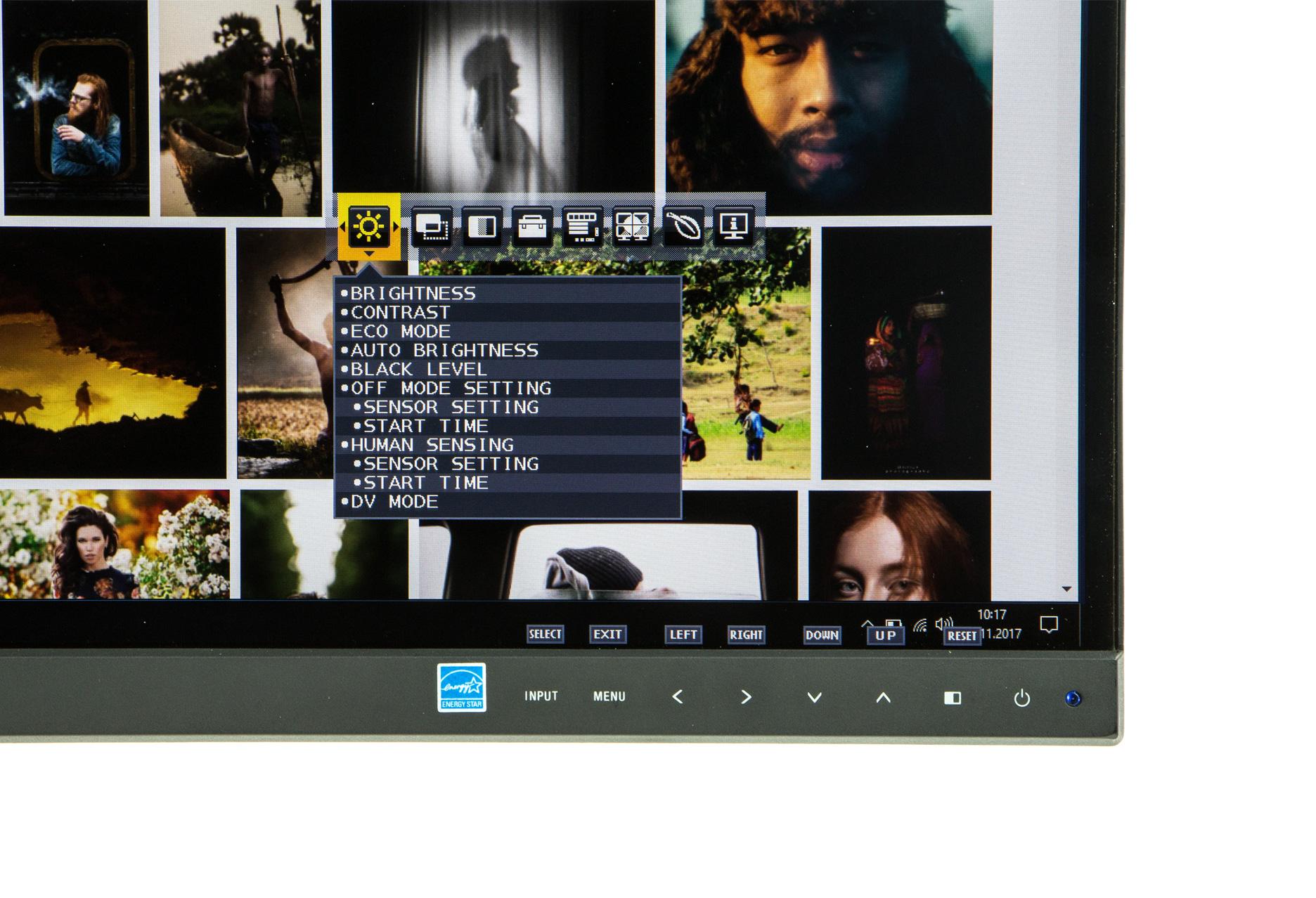 NEC MultiSync EX341R menu OSD