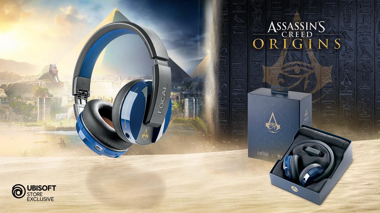 Focal Assassin's Creed Origins: Listen Wireless - limitowana edycja dostępna na Ubistore
