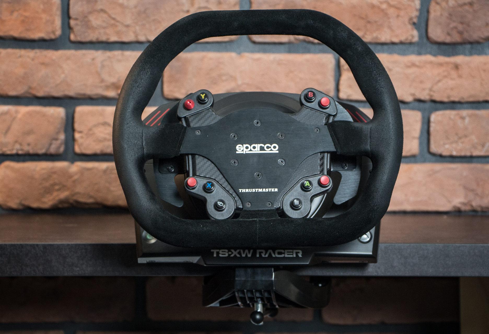 Thrustmaster Ts Xw Racer Sparco P310 Competition Mod Test Kierownicy New Widok Od Przodu