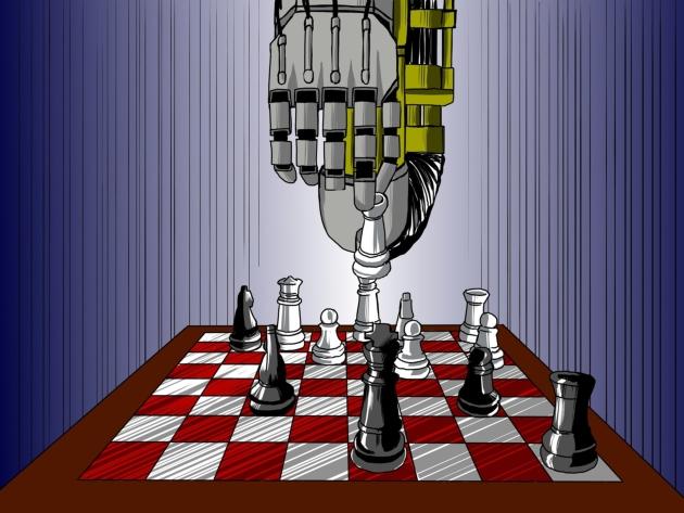 Warcaby, szachy i Sztuczna inteligencja