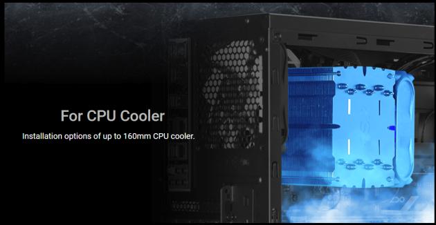 FSP CMT210 procesor chłodzenie ac