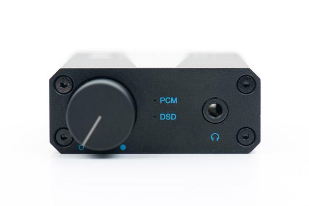 NuPrime uDSD - potencjometr i wyjście słuchawkowe 3,5 mm