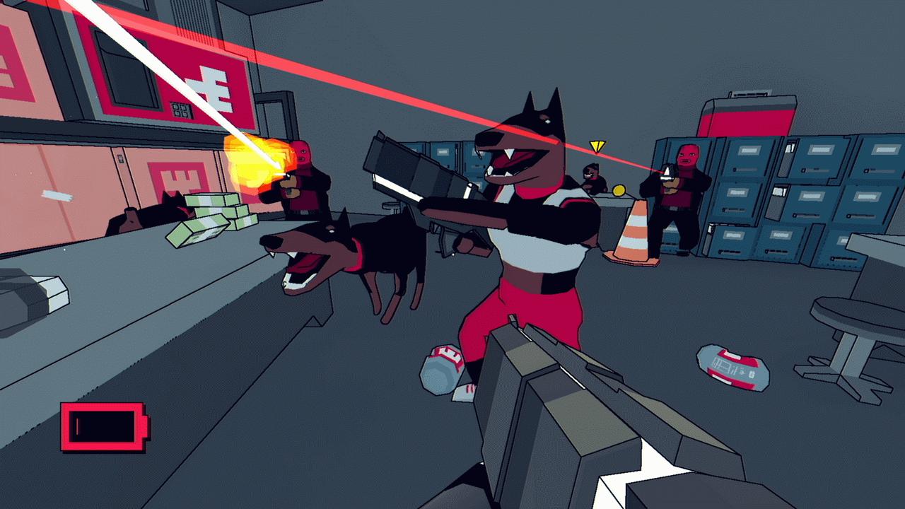 High Hell - psy jako przeciwnicy