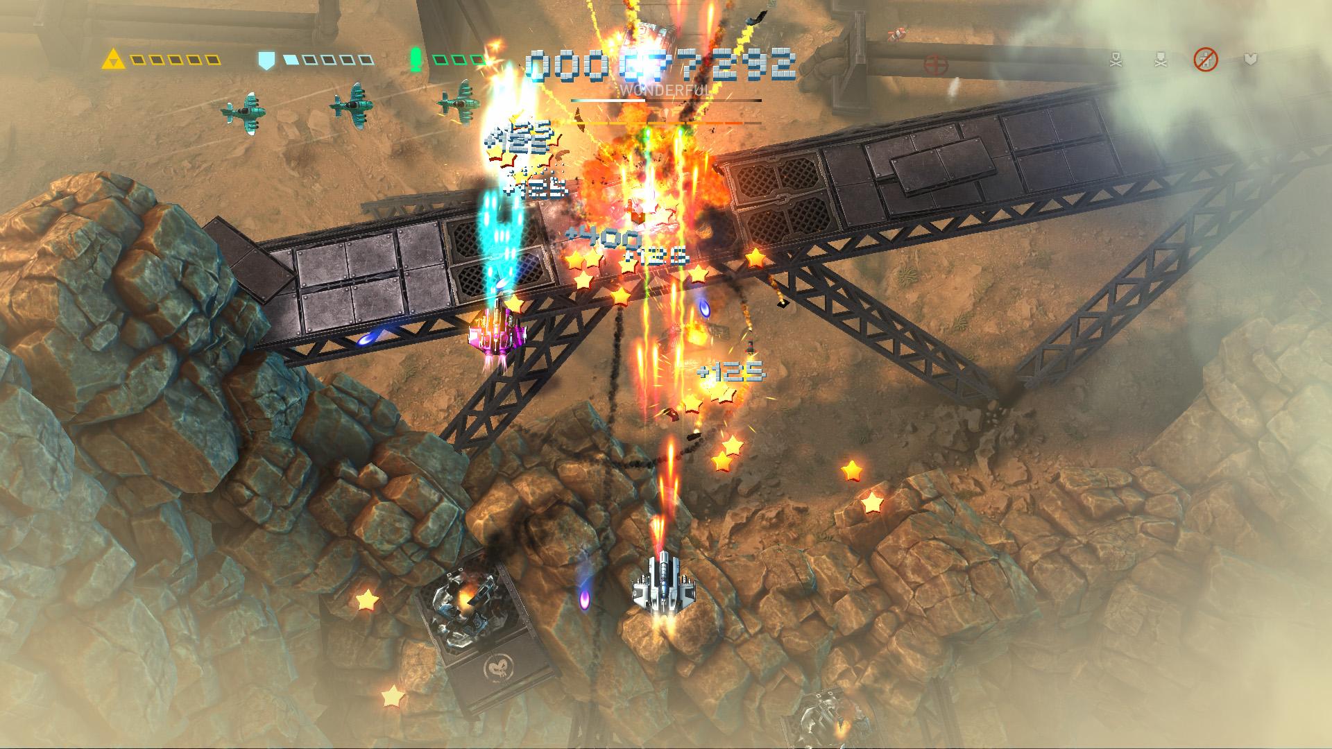 Sky Force Reloaded - samoloty wroga