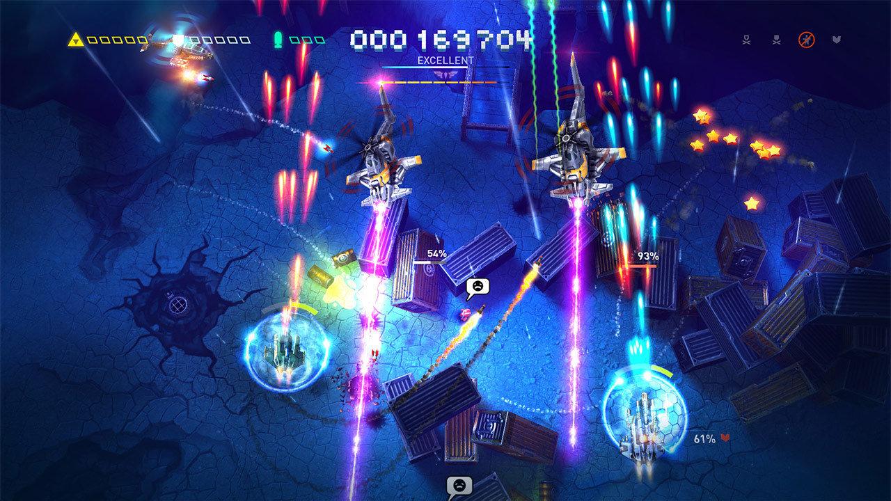 Sky Force Reloaded - nocne strzelanie