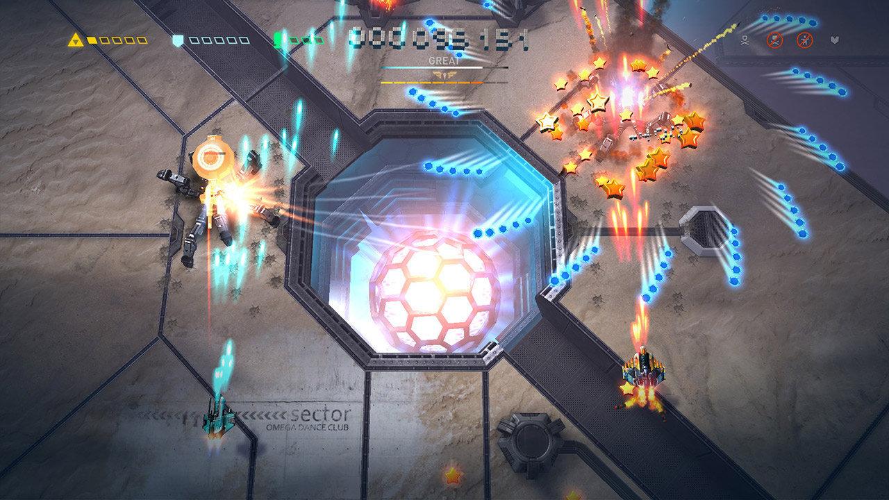 Sky Force Reloaded - kolejny sektor