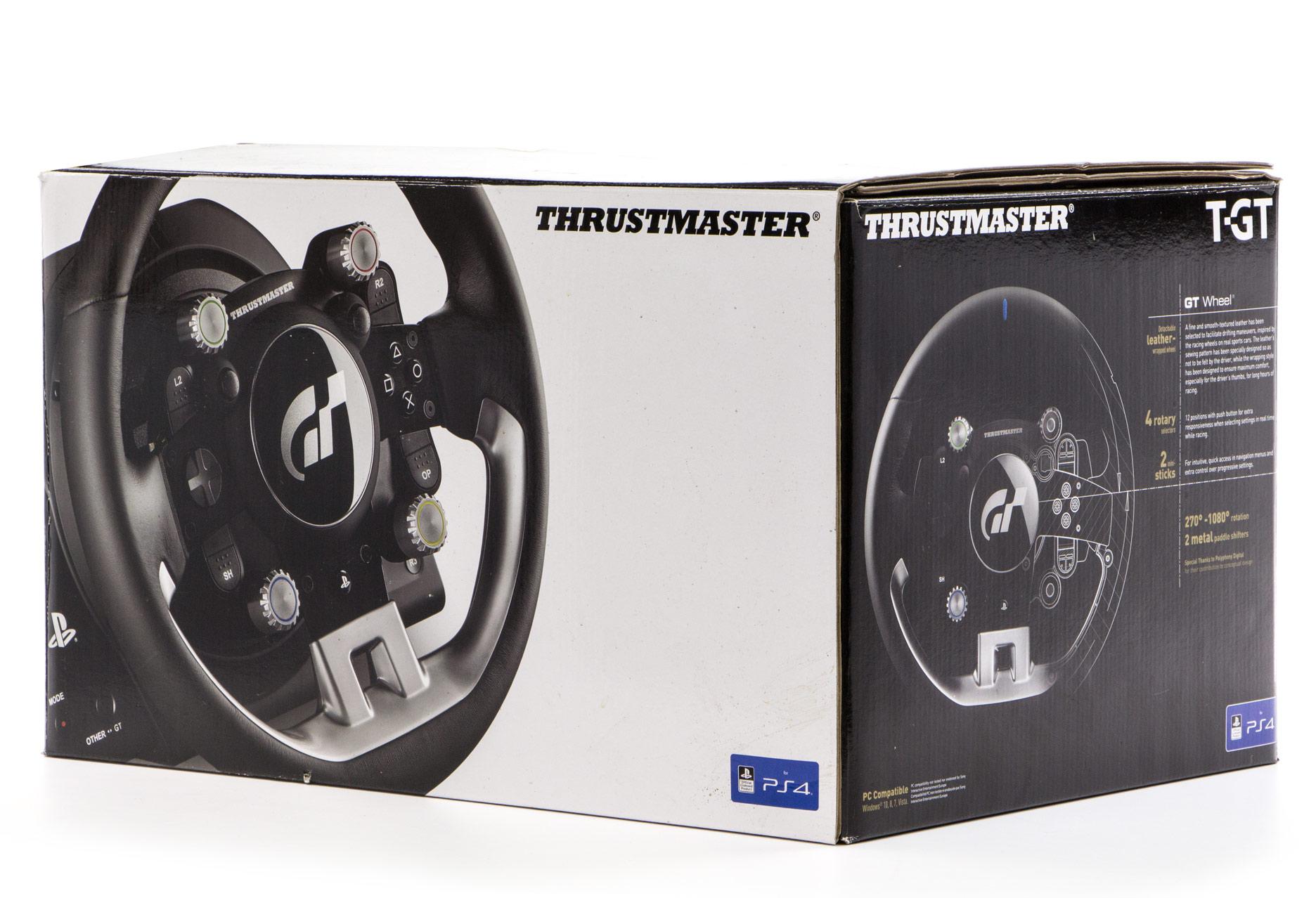 Thrustmaster T-GT - pudłko z kierownicą