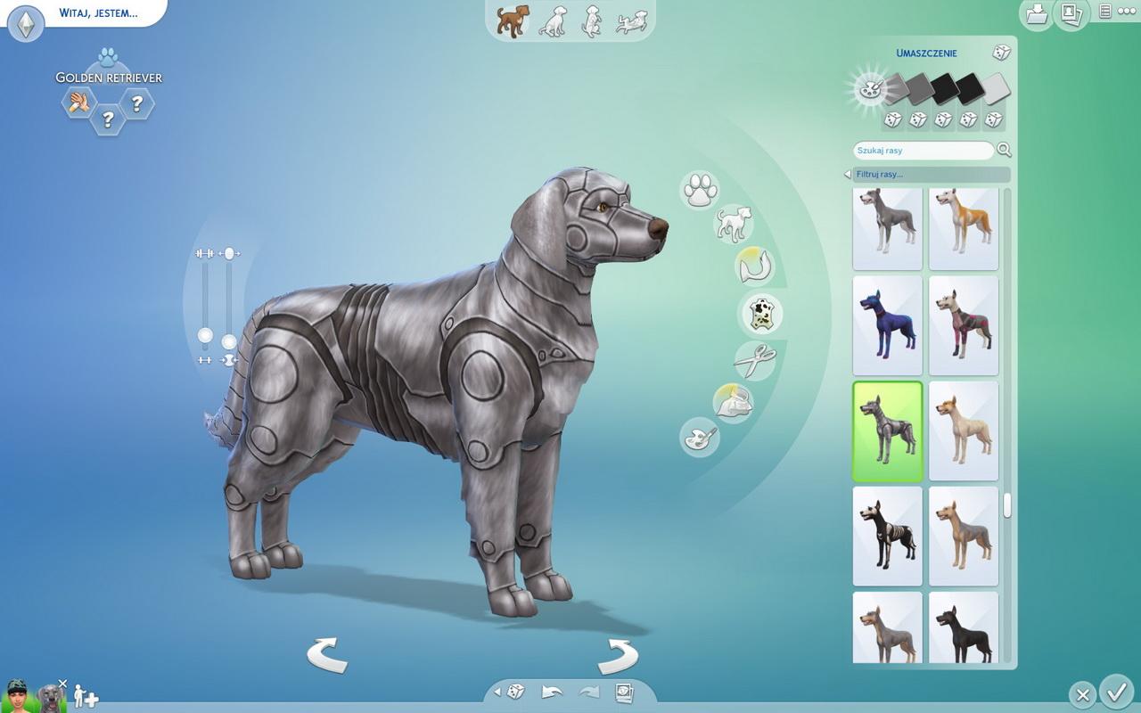 The Sims 4: Psy i koty - metalowe umaszczenie