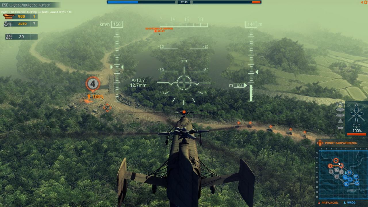 Heliborne - Yak-23 na polowaniu