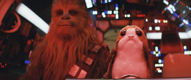 Gwiezdne Wojny: Ostatni Jedi - Chewie i słodziak