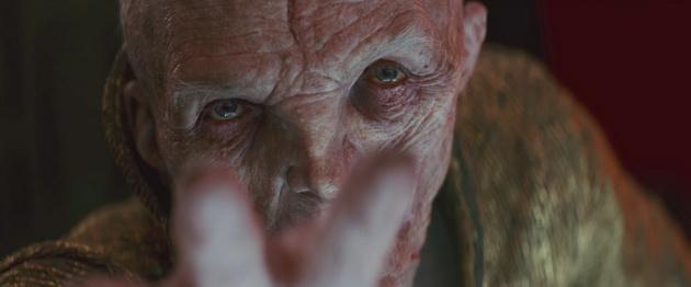 Gwiezdne Wojny: Ostatni Jedi - Snoke