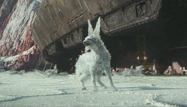 Gwiezdne Wojny: Ostatni Jedi - lodowy stwór