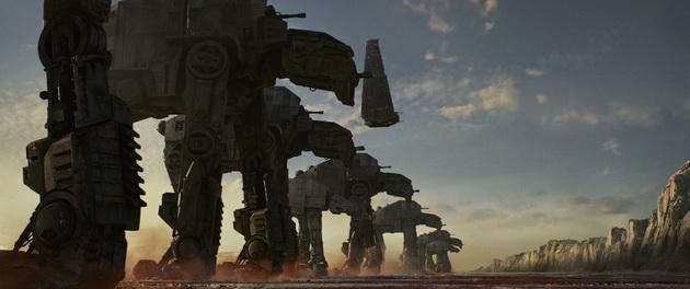 Gwiezdne Wojny: Ostatni Jedi - maszyny kroczące