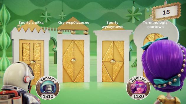 PlayLink - wybór kategorii