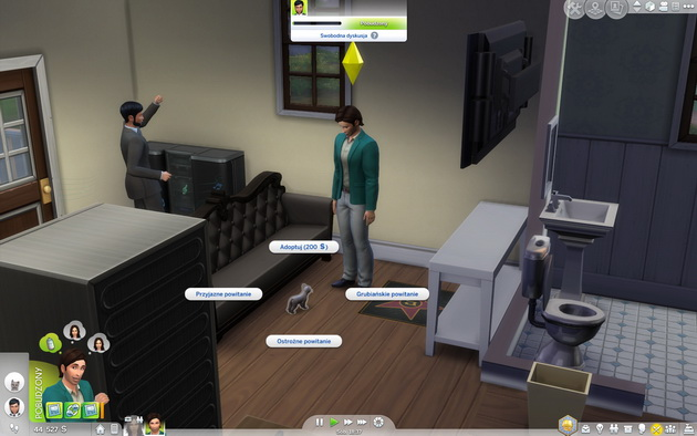 Poradnik do The Sims 4: Psy i koty - adoptowanie kota