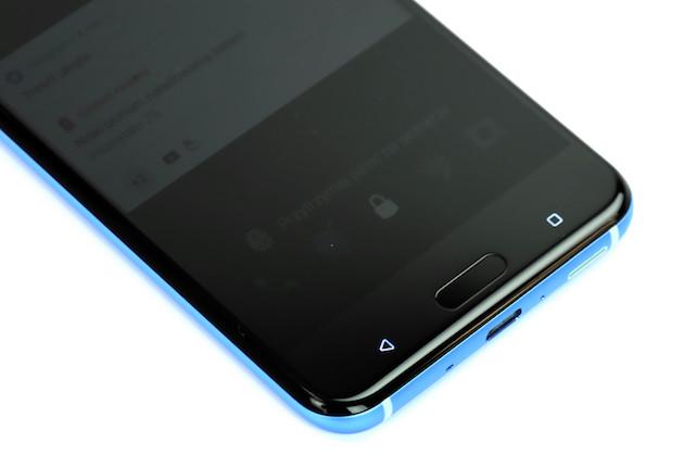 HTC U11 przyciski systemowe