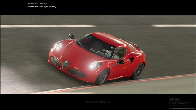 Gran Turismo Sport - ujęcie z powtórki