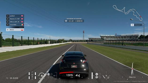 Gran Turismo Sport - pierwsze okrążenie