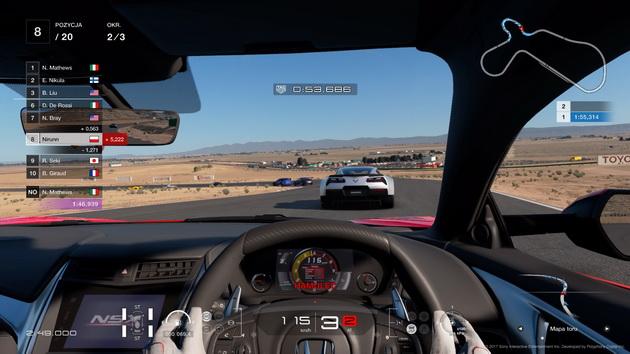 Gran Turismo Sport - wyścig po pustyni