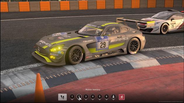 Gran Turismo Sport - Mercedes w powtórce
