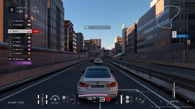 Gran Turismo Sport - tor miejski