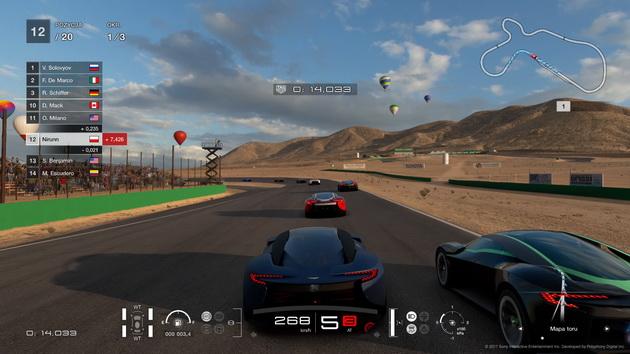 Gran Turismo Sport - wyścig sieciowy