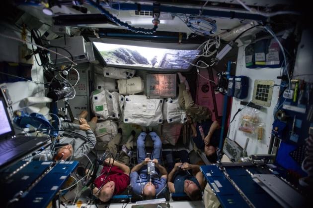 Seans Gwiezdnych Wojen na ISS