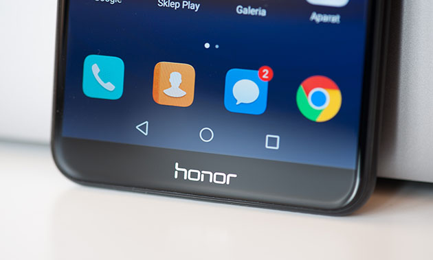 Honor 7X - cienkie ramki