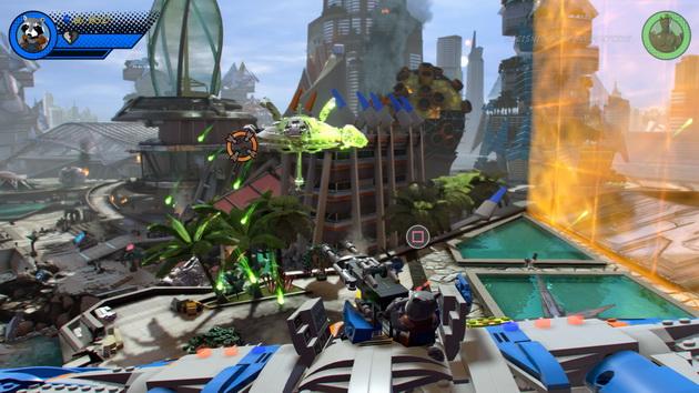 LEGO Marvel Super Heroes 2 - strzelanie z działka