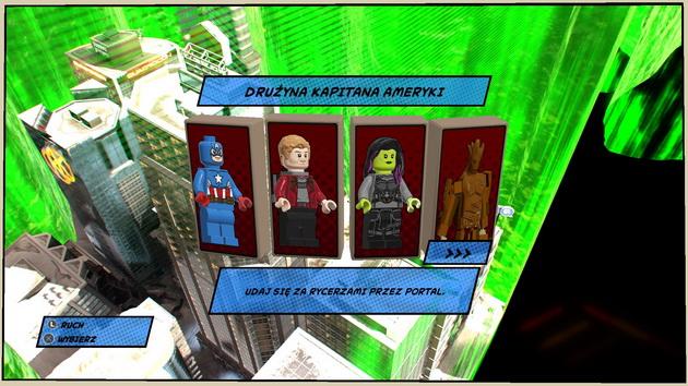 LEGO Marvel Super Heroes 2 - drużyna Kapitana Ameryki