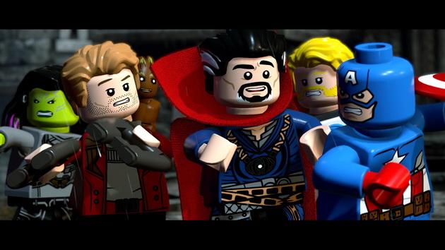 LEGO Marvel Super Heroes 2 - Dr Strange z ekipą Kapitana Ameryki