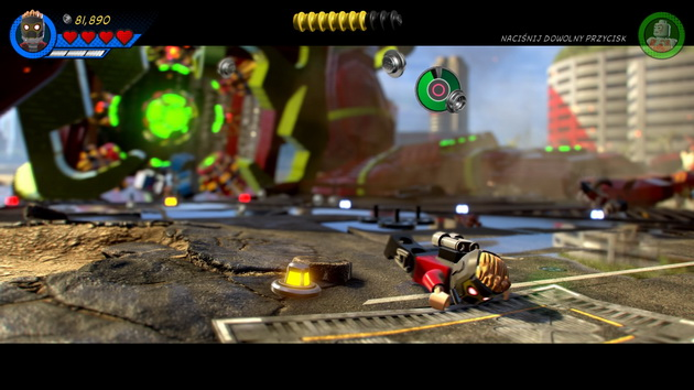 LEGO Marvel Super Heroes 2 - potknięcie się Star Lorda