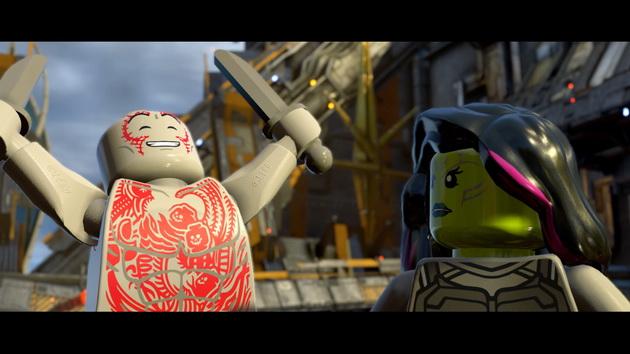 LEGO Marvel Super Heroes 2 - cieszący się Drax