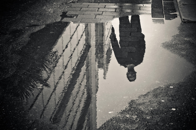 Woda odbicie - lustro