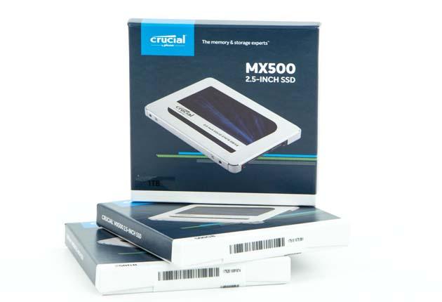 Crucial MX500 250 GB, 500 GB i 1 TB