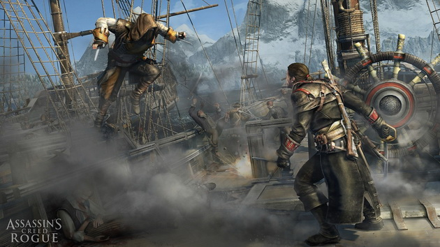Najgorętsze gry I połowy 2018 roku - Assassin's Creed Rogue Remastered