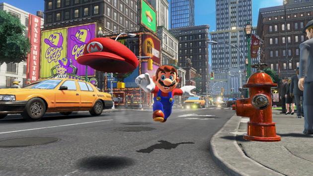 Najgorętsze gry I połowy 2018 roku - Mario Odyssey