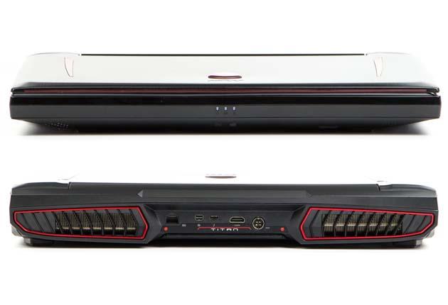 MSI GT75VR 7RF Titan Pro przód i tył